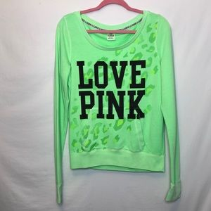 Victoria's Secret PINK green Sweatshirt 💚